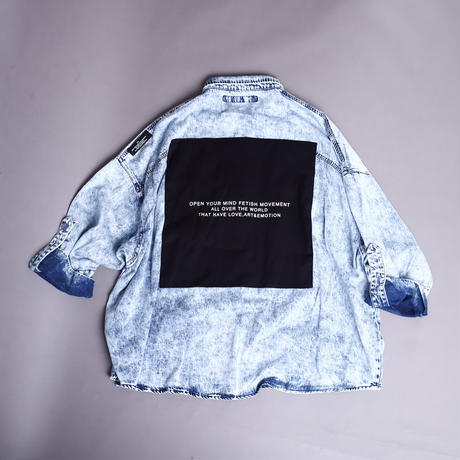 【AFYF】BASATTO SHIRT [ID-CHEMICL]