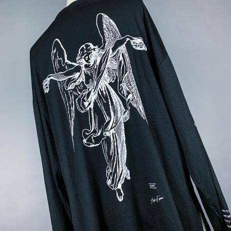 【AFYF】BASIC OVERSIZED GRAPHIC LST [ANGEL-Ⅰ-BLACK]