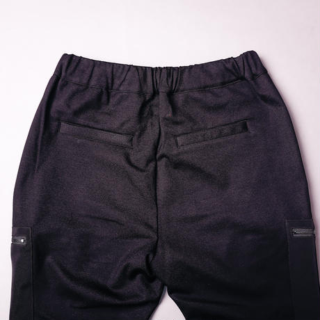 【AFYF】BASIC FOR OVSIZE SKINNY RIB PANT[PONT BLACK]