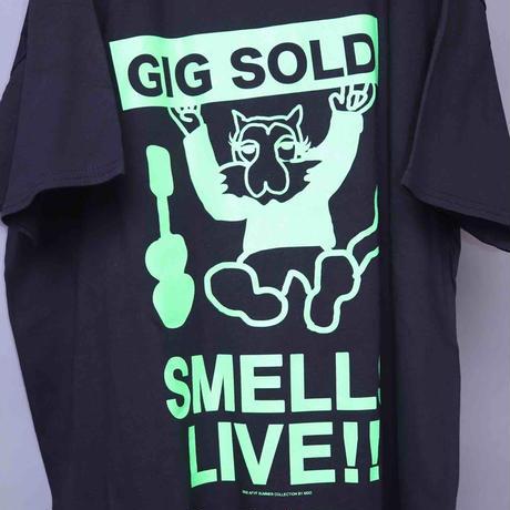 【AFYF ON GILDAN社】 SOUVENIR T SHIRT3 ANIMAL GIG [BLACK]