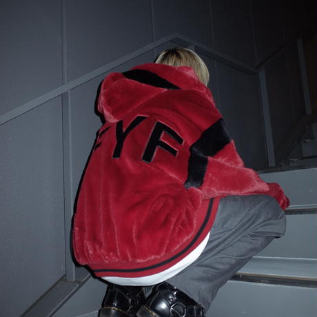 【AFYF】FUR BLOUSON[RED]