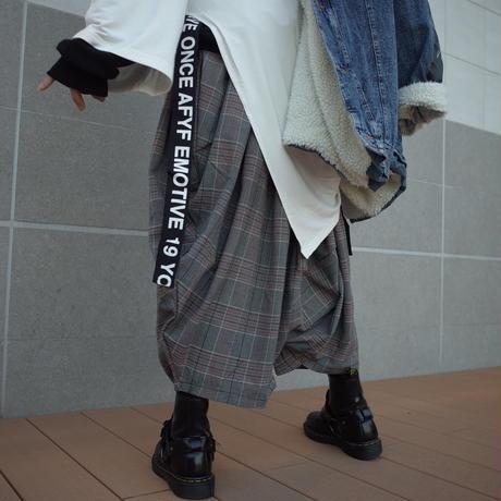 【CLASSIC ROV】 RAP PANT[CHECK-GRY×WHT×BRW]