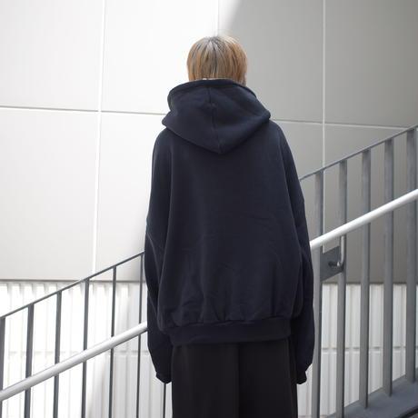 【AFYF】SOFT JERZY HOOD [SMELLS-BLACK]
