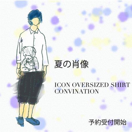 【AFYF】 ICON BIG SHIRT COMBINATION ITEM[TYPE-BEAR]