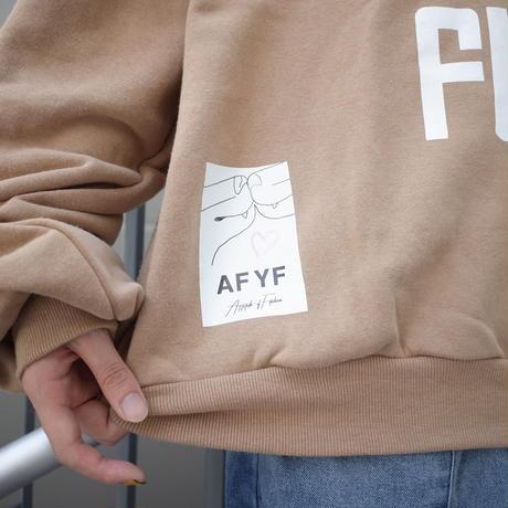 【AFYF】SOFT JERZY CREW [NOPUPET-BEIGE]