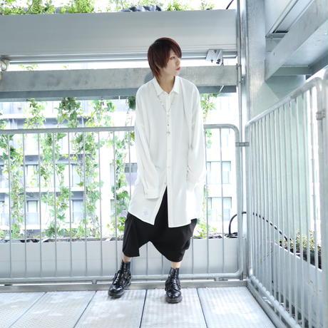 【CLASSIC ROV】 LONG SHIRT [WHITE]