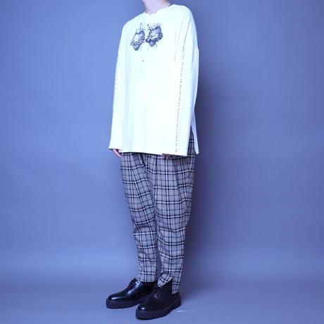 【AFYF】BASIC OVERSIZED GRAPHIC LST [HEART-Ⅲ-WHITE]