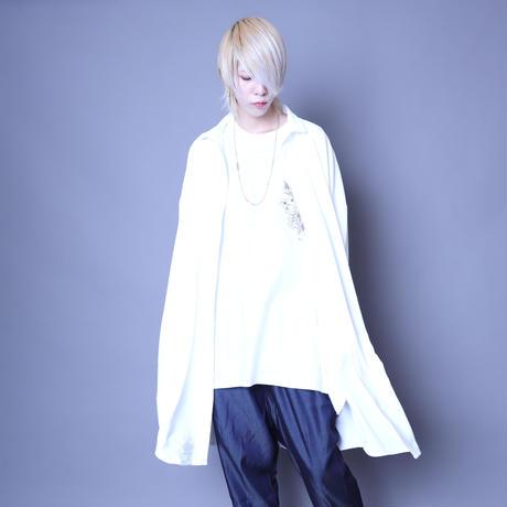 【ROVTSKI】 LONG SHIRT [WHITE]