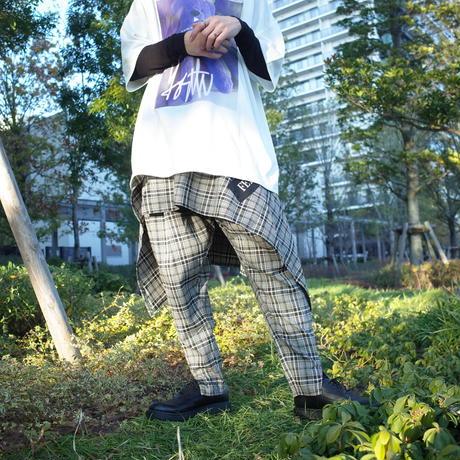 【AFYF】BASIC FETI MAKIMAKI SKIRT[BLACK/BEIGE]