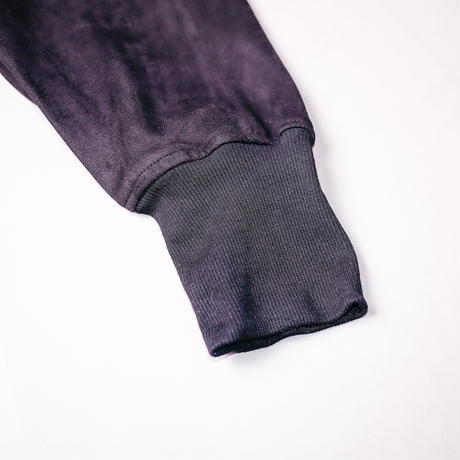 【AFYF】BASICS OVERSIZESAROUEL RIB PANT [SWEADE BLACK]