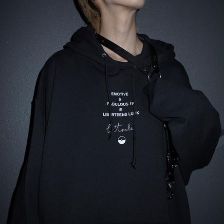 【AFYF】RAINBOW DARK BEAR JERZEES別注色 PARKA[BLACK]