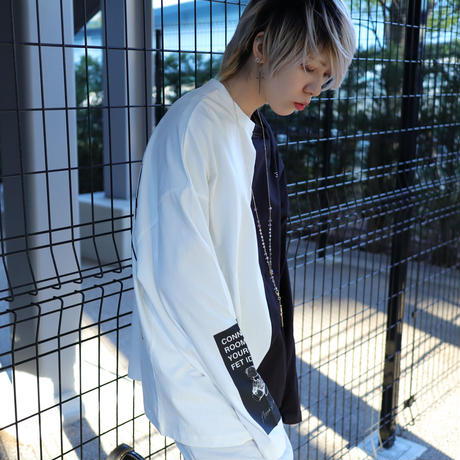 【AFYF】 OPENEND LS T SHIRT [BROKEN ANGEL WING-WHITE]