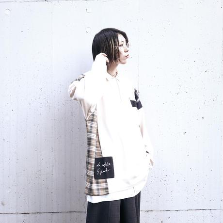 【AFYF】TRILINGUAL LONG SLEEVE TEE[NATURAL]