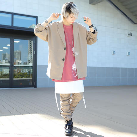 【CLASSIC ROV】TROPICAL (清涼スーツ素材) TAILORED JKT  [BEIGE]