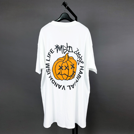 【AFYF ON GILDAN社】 SOUVENIR T SHIRT2 MONSTER PUMP [WHITE]