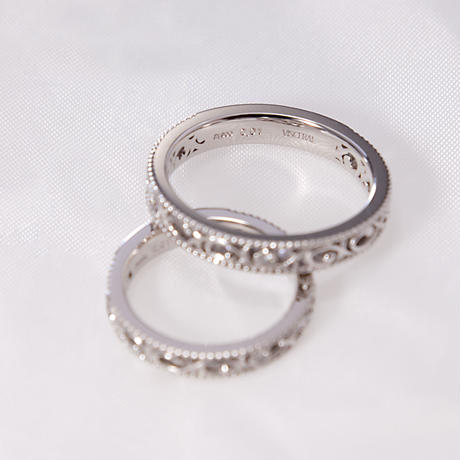Arabesque Marriage Ring(1個あたりの価格)