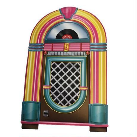 Rockabilly Icon Walldeco  Juke Box