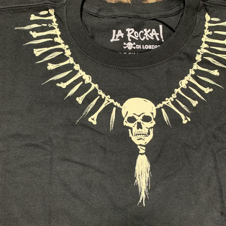 LA ROCKA!USA/Skull Necklace