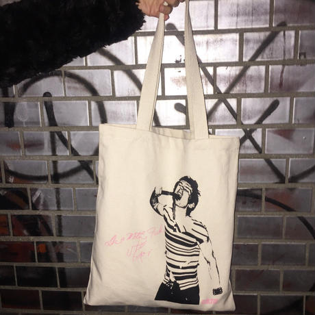 Julia Gorton ×Only True Romance/Stiv Bators Tote bag