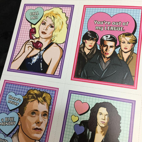 Matthew Lineham/New Wave Valentine's Day Card Pack (2018)
