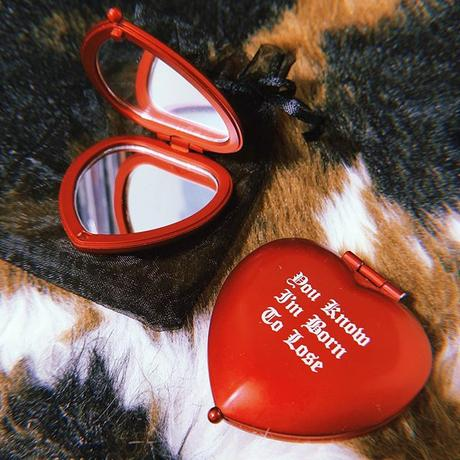 Original Heart Shaped Compact Mirror