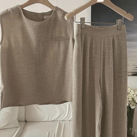 【予約商品】linen setup