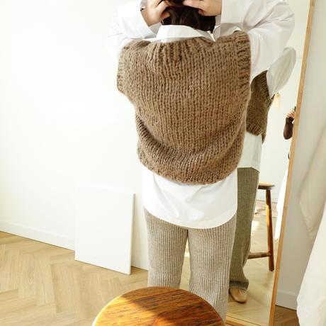 数量限定/handmade Knit vest