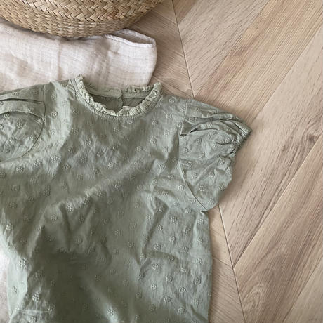 stand color olive rompers