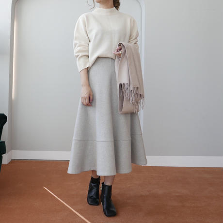 【予約商品】wool winter long sk