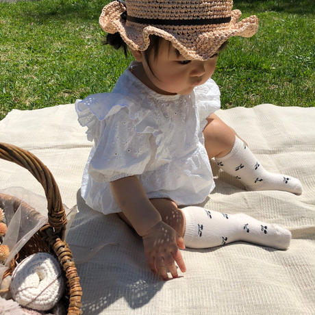 frill lace rompers