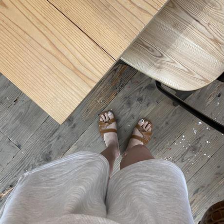 【予約商品】cross sandal