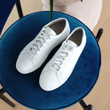 Cow leather sneaker