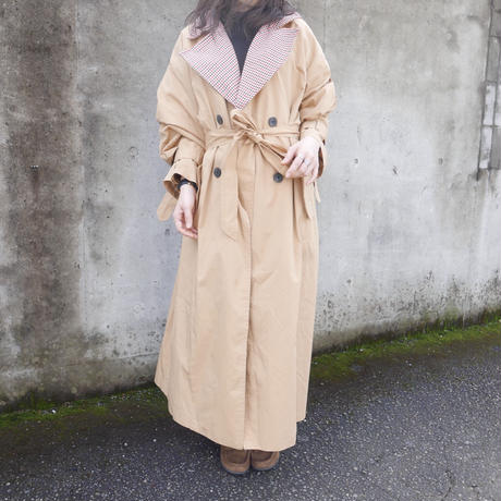 【数量限定】ONniii original trench coat