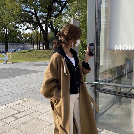 Wool camel coat
