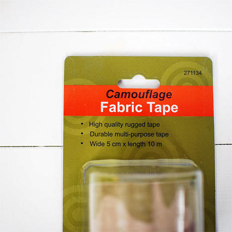 Camouflage fabric tape