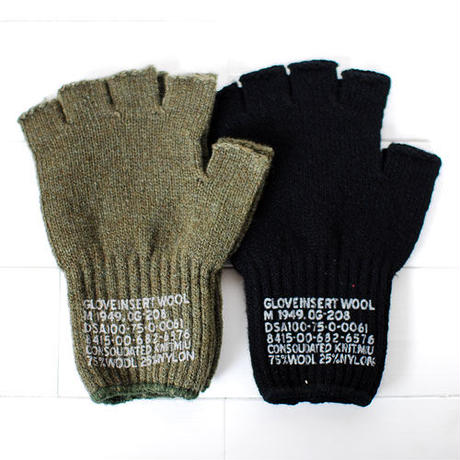 Open finger gloves