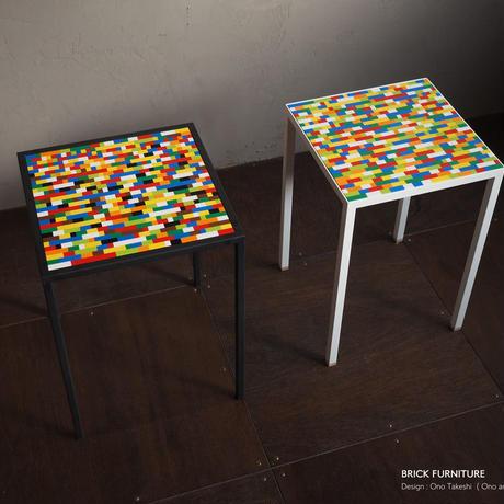 BRICK FURNITURE - Lumber stool