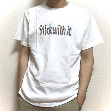 Stick with it TOUR  ヘヴィーウェイトTシャツ(MENS)