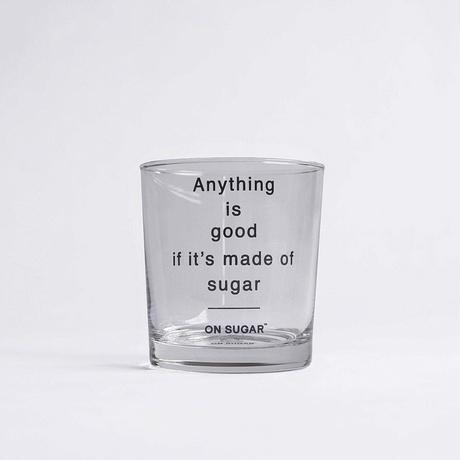 ON SUGAR グラス