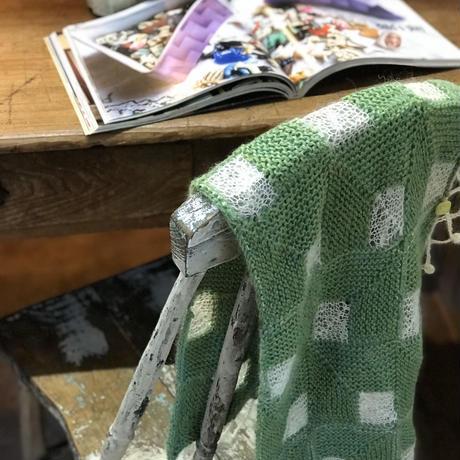 【ダウンロードレシピ】ハオルチアスカーフ