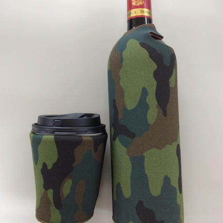 Ooba the multipurpose koozie  :Camo :  ペットボトルカバー缶クージー 缶 ホルダー  保冷缶ホルダー クージー 保冷ドリンククーラー <送料別途¥400>