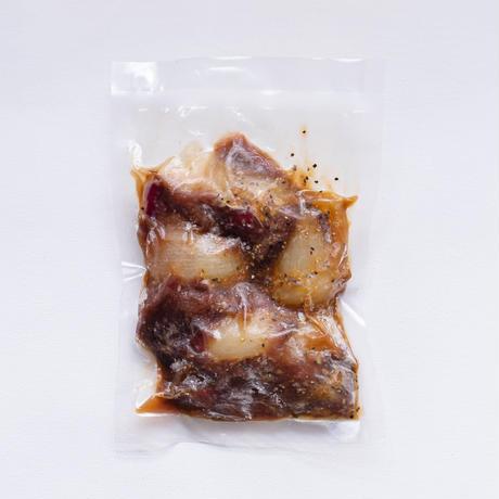 厚切り猪肉のしょうが醤油漬け~簡単調理!味付き猪肉シリーズ~