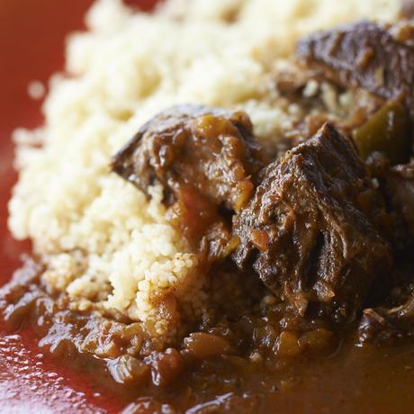イノシシ肉のスパイス煮込み