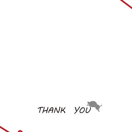 メッセージカード同梱サービス(感謝バージョン)