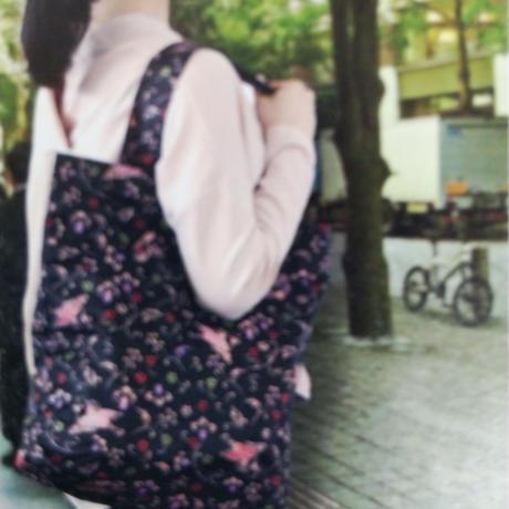 くろちく 和柄エコバッグ(38×40、7種類)