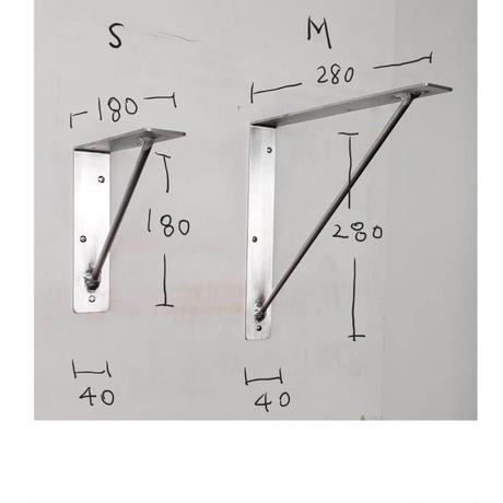 アルミ棚受金物A /Mサイズ