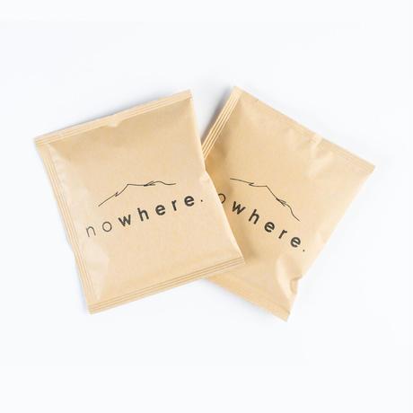 nowhere オリジナルブレンドコーヒー ドリッブバッグ(10袋セット)