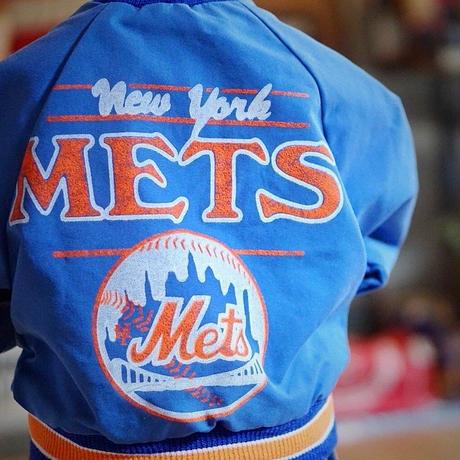 ヴィンテージキッズナイロンジャケット(Mets)