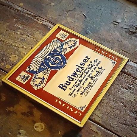 70s~80s バドワイザー パブミラー