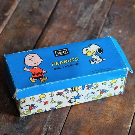 60s~70sヴィンテージPeanuts Shoe Box from Sears